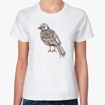 Классическая футболка Bird Птица