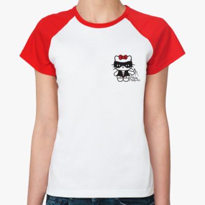 Женская футболка реглан Smile If I'm Sexy