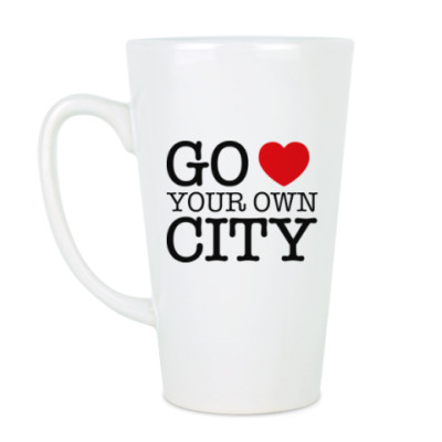 Чашка Латте Love your own city