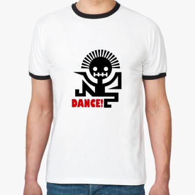 Футболка Ringer-T Dance Style