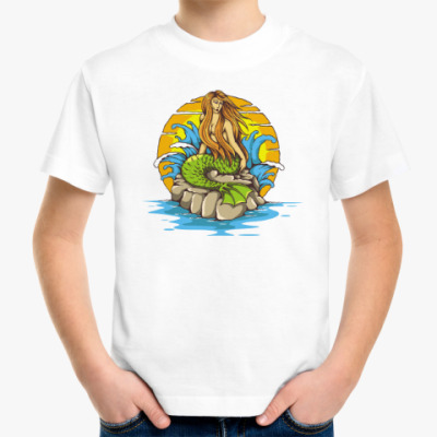Детская футболка Море. Сирена.