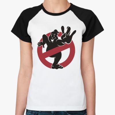 Женская футболка реглан West Ghost