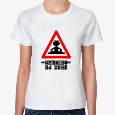 Классическая футболка DJ ZONE