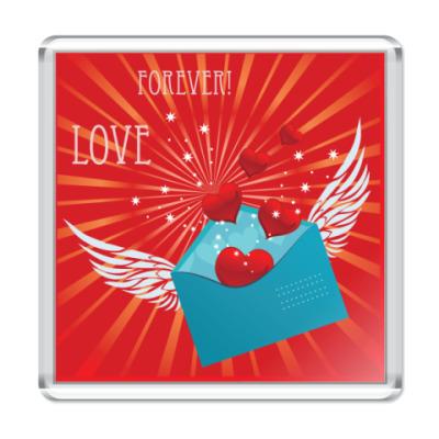 Магнит  Любовь навсегда!
