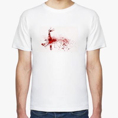 Футболка С кровью