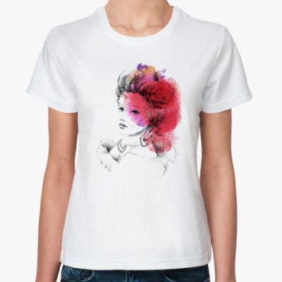 Классическая футболка Прекрасная Дама 3