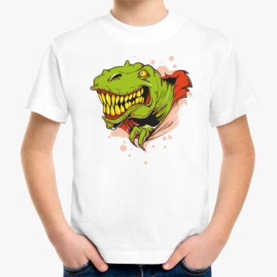 Детская футболка Динозавр рекс