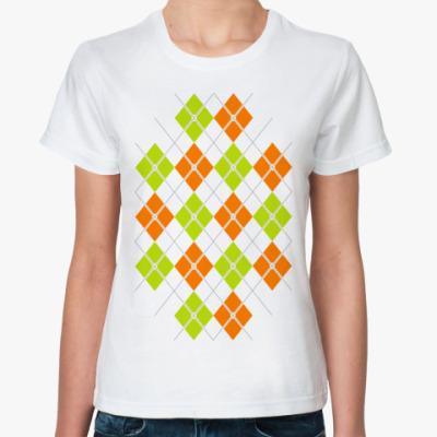 Классическая футболка Ромбки