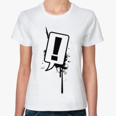 Классическая футболка Вопросы?