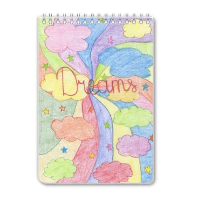 Блокнот 'Dreams'