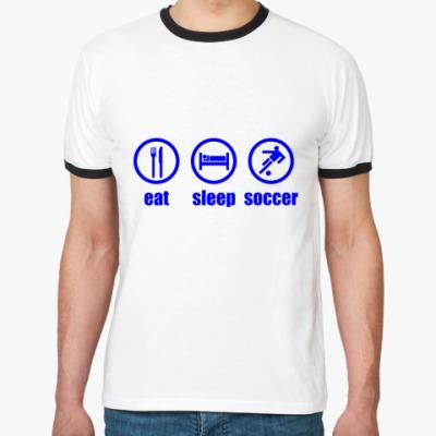 Футболка Ringer-T Soccer