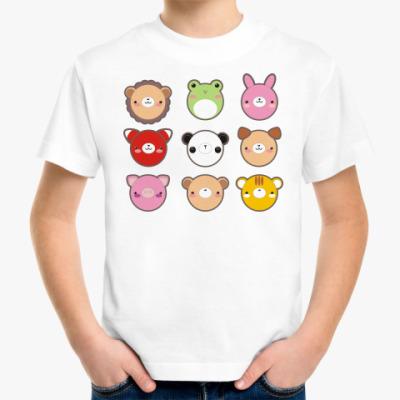 Детская футболка 'Кавайные звери'