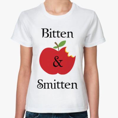 Классическая футболка Bitten and smitten