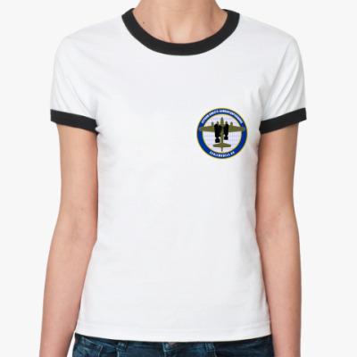 Женская футболка Ringer-T  Бомбардировщики Ж