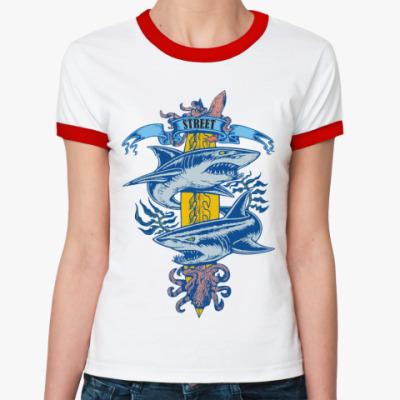 Женская футболка Ringer-T   Street