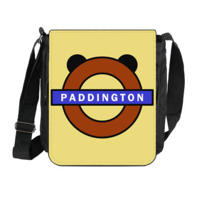Сумка на плечо (мини-планшет) Паддингтон