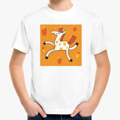 Детская футболка Веселая лошадка