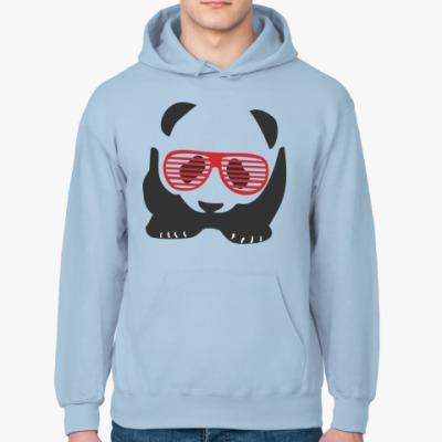 Толстовка худи Панда в очках