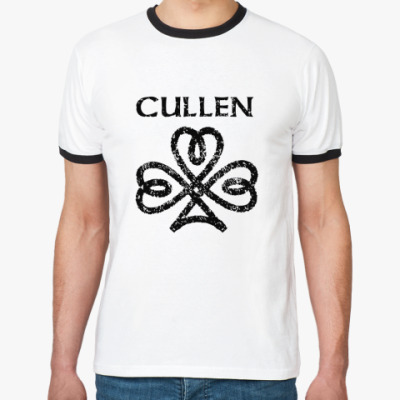 Футболка Ringer-T Cullen sign