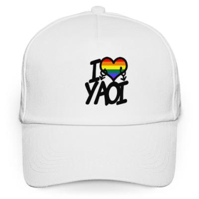 Кепка бейсболка I love yaoi (Boys' Love)
