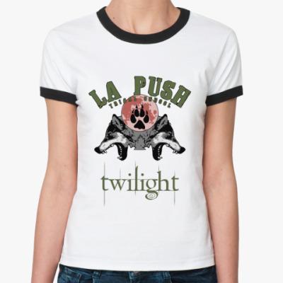 Женская футболка Ringer-T La push