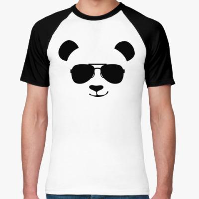 Футболка реглан Крутая панда