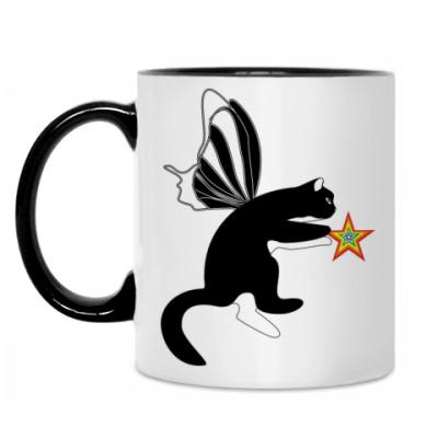 Кружка Флайпус черный