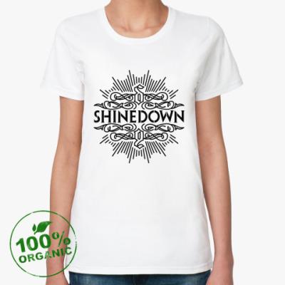 Женская футболка из органик-хлопка Shinedown