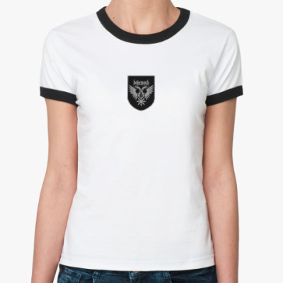 Женская футболка Ringer-T Behemoth 93 legion