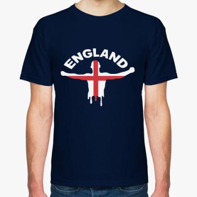 Футболка  Англия