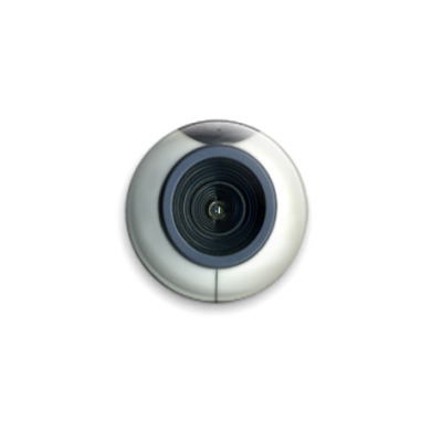 Значок 25мм  Вебкамера