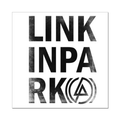 Наклейка (стикер) Linkin Park