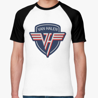 Футболка реглан Van Halen