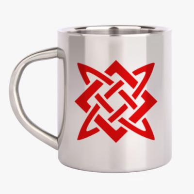 Кружка металлическая Звезда Руси (Сварогов Квадрат)