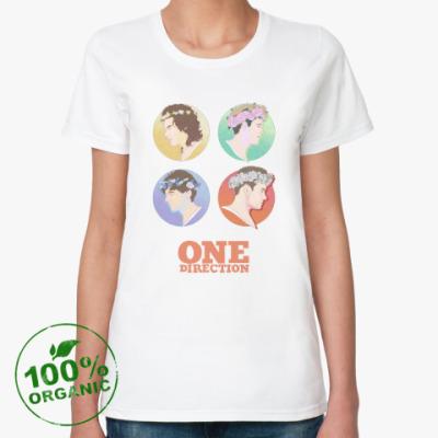 Женская футболка из органик-хлопка One Direction