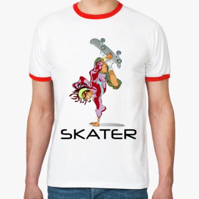 Футболка Ringer-T Skater