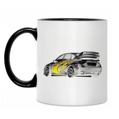 Кружка Love Subaru