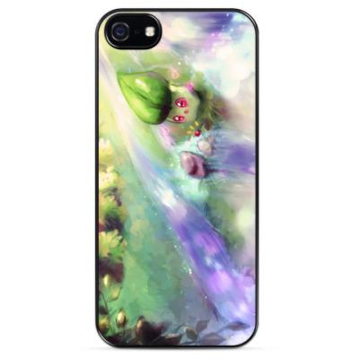 Чехол для iPhone Chikorita pokemon