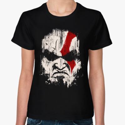 Женская футболка Кратос