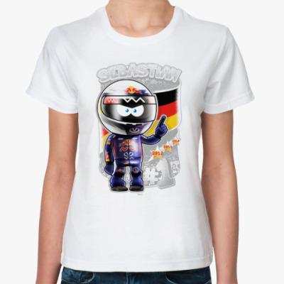Классическая футболка Sebastian № 1