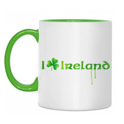 Кружка 'I love Ireland'