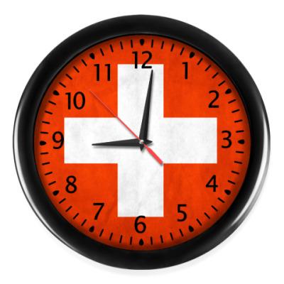 Настенные часы Швейцария