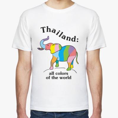 Футболка Пусть Таиланд всегда будет с вами!