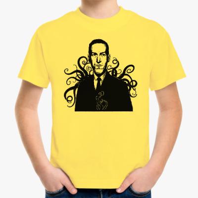 Детская футболка Лавкрафт