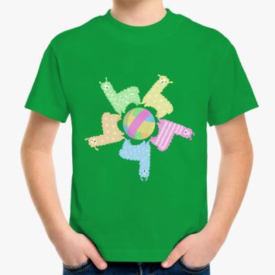 Детская футболка Ламы