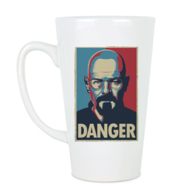 Чашка Латте Walter danger