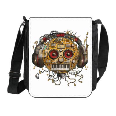 Сумка на плечо (мини-планшет) Робот