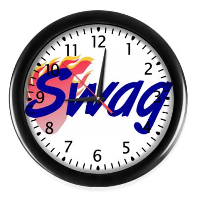 Настенные часы Swag