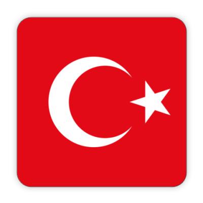 Костер (подставка под кружку) Турция, Turkey