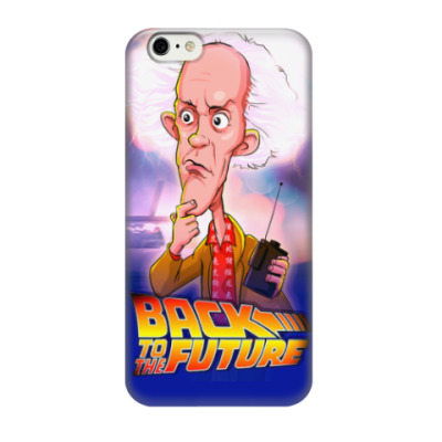 Чехол для iPhone 6/6s Назад в Будущее. Док.
